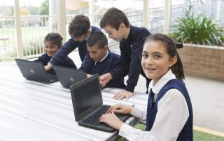 Maths challenge makes most of school space